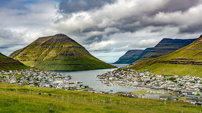 New topographic map of the Faroe Islands - DHI GRAS
